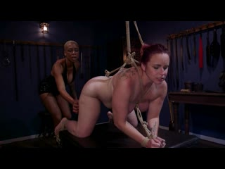WHIPPEDASS Lesbian Latex Blasphemy Ashley Paige Whips the Sin Out Of Bella Rossi