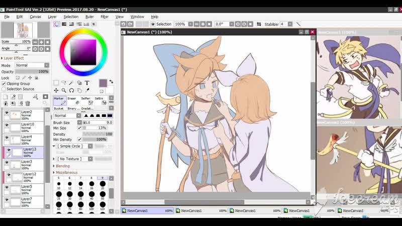 Magical☆Nuko Len Len speedpaint