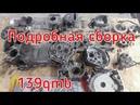 Как собрать двигатель скутера 4т 139qmb. Установка новой поршневой. Ремонт скутера