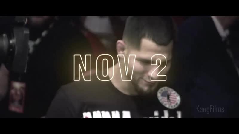 UFC 244: Нэйт Диас vs Хорхе Масвидаль - промо трейлер