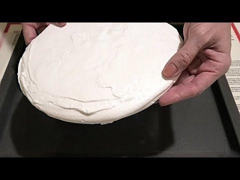 БЕЗЕ МЕРЕНГОВАЯ ПРОСЛОЙКА для торта BEZE MERGENE LAYER for cake