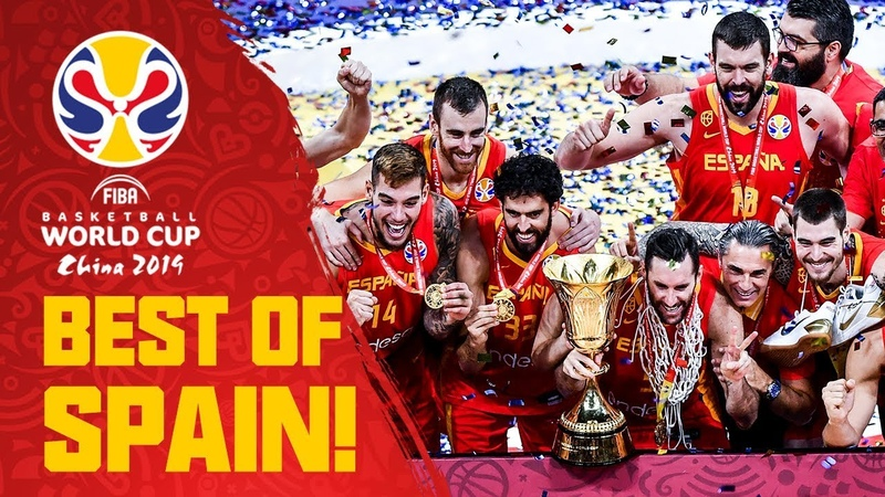 Spain's Road to Basketball World Cup Glory! - FIBA Basketball World Cup 2019
