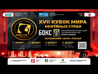 Xvii the world cup of boxing oil countries 2019 day 1 a daily session