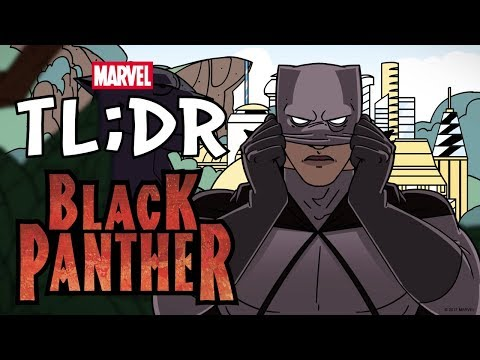 Who is the Black Panther in 2 Minutes Marvel TL DR