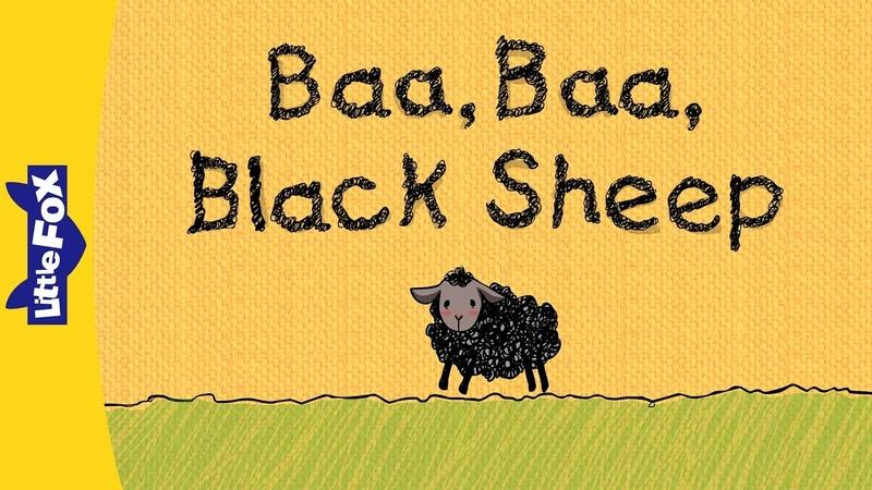 Baa Baa Black Sheep Nursery Rhymes Classic Little Fox Animated Songs for Kids