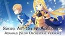 ADAMAS (Sword Art Online Alicization OP)   Slow Orchestral Version  