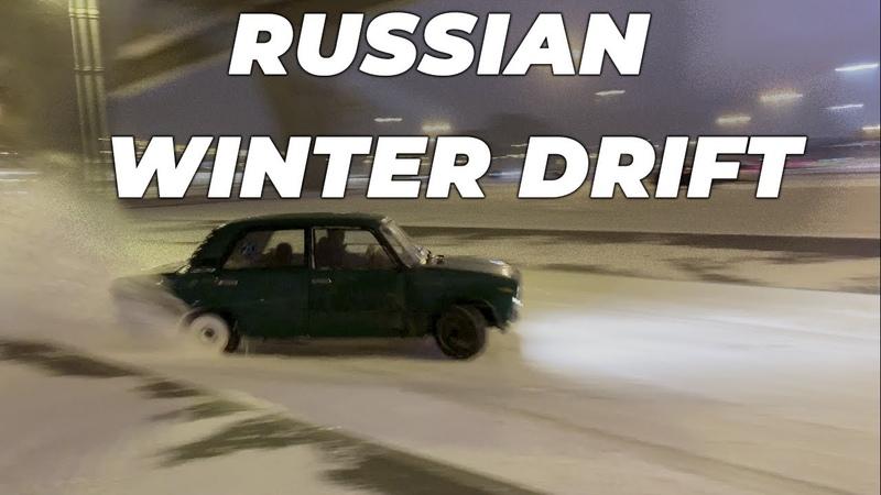 В Питер пришла зима Winter drift