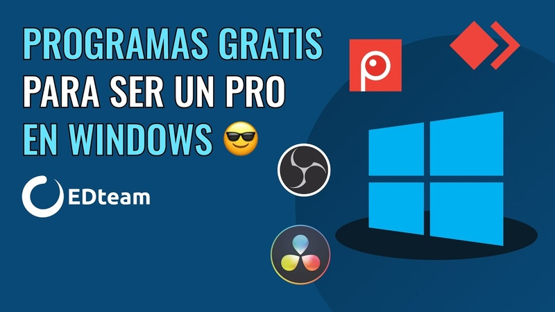Programas gratuitos para ser un PRO en Windows