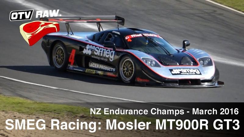 RAW: SMEG Racing Mosler MT900R GT3 - NZ Enduro Champs Hampton Downs, March 2016