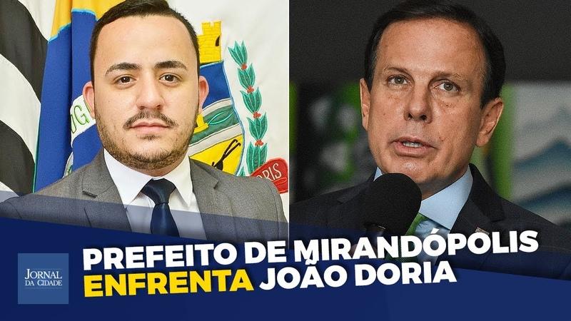SP em perigo prefeito alerta sobre plano da maldade de João Doria