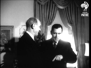 Dean Rusk Meets Gromyko To Discuss The U.N. And Berlin  (1961)