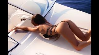 Секс игры на яхте...