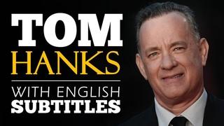 ENGLISH SPEECH   TOM HANKS: Fear or Faith? (English Subtitles)
