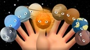 🌞Planets finger Family✋✋Right Left Hands Finger Play Song Nursery Rhymes Song
