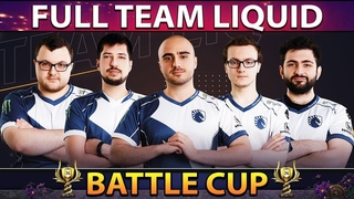 FULL TEAM LIQUID on Battle Cup - Miracle With New Young Invoker Persona TI9 Set - Dota 2