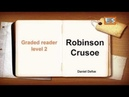 Audiobook New Learn English through story Robinson Crusoe Graded reader1