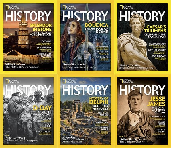 National Geographic History - 09.10 2019