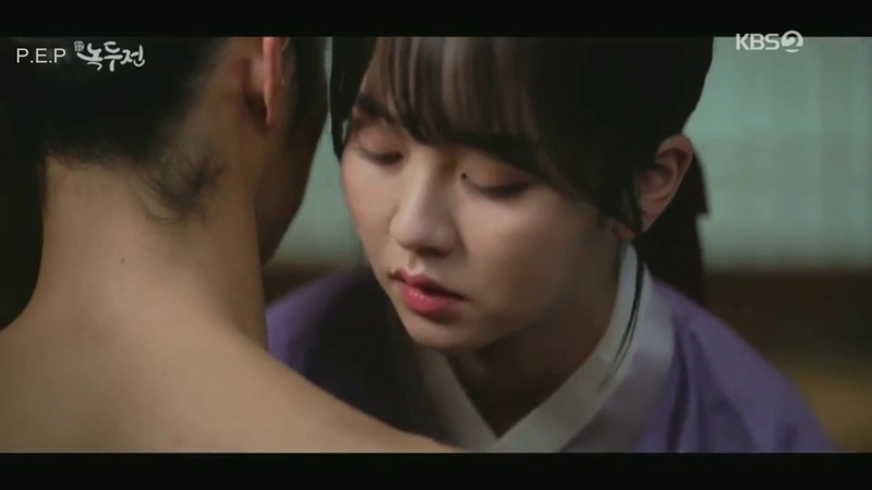 The Tale of Nokdu ep 15-18 Sweet Moments (Jang Dong Yoon ❤️ Kim So Hyun)