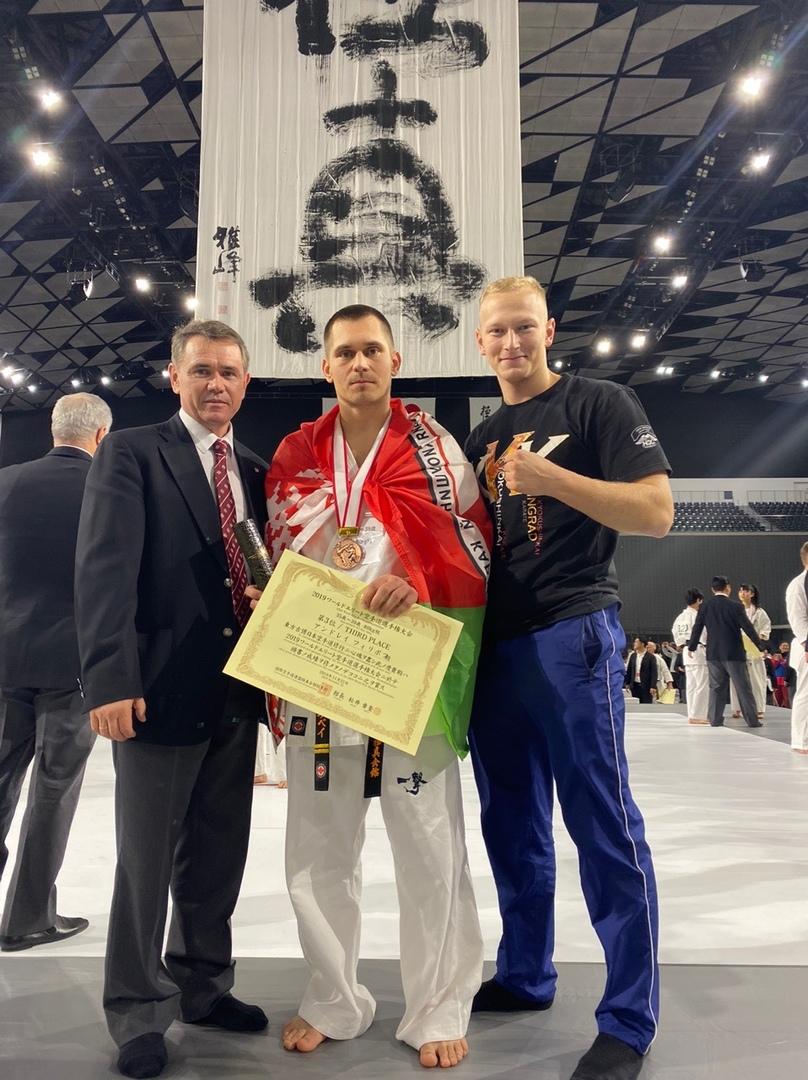 Филиппов Андрей - 3 место на Чемпионате Мира в Токио!