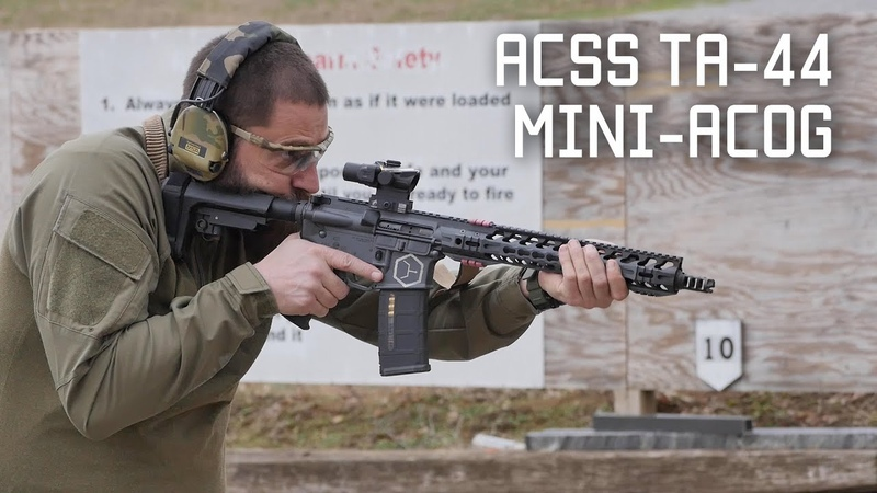 Special Ops review of the ACSS Mini ACOG Tactical Rifleman