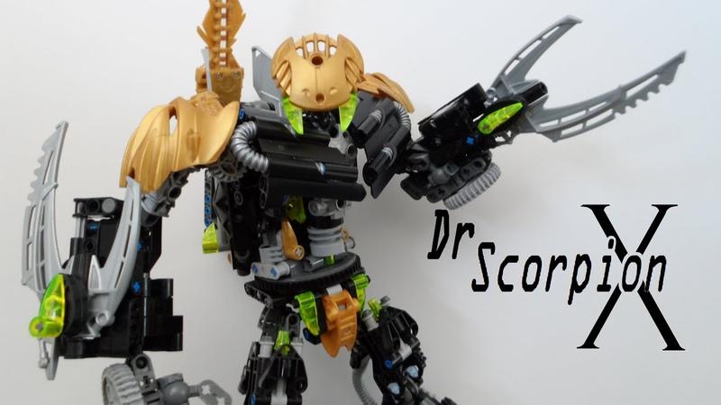 Bioformers: DrScorpionX (Self Moc)