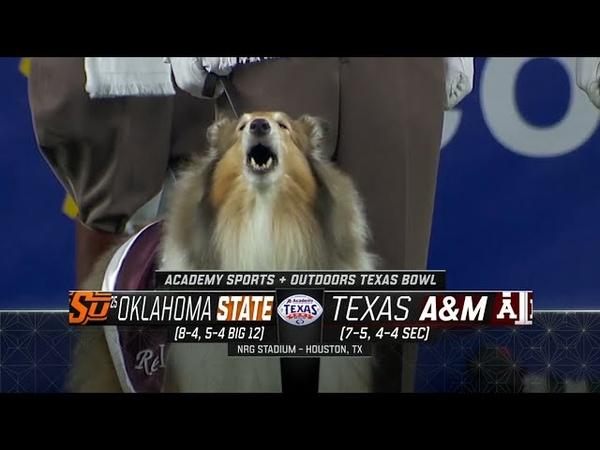 NCAAF 2019-2020 Texas Bowl (25) Oklahoma State Cowboys - Texas AM Aggies EN