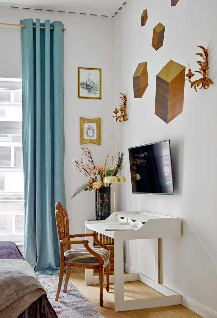 Квартира в Дюссельдорфе по проекту бюро QuatroBase