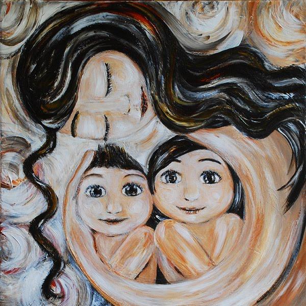 хорошо картинка мама с двумя сыновьями рисунок рекомендуем