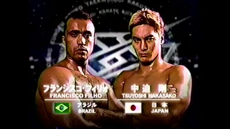 11 2000 08 10 Francisco Filho vs Tsuyoshi Nakasako K 1 World Grand Prix 2000 in Yokohama Quarter Finals
