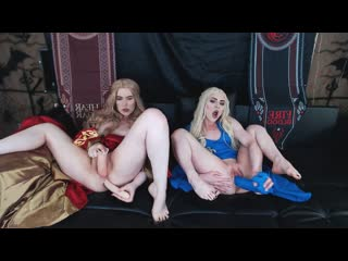 XandriaGoddess - Daenerys and Cersei filling up all holes