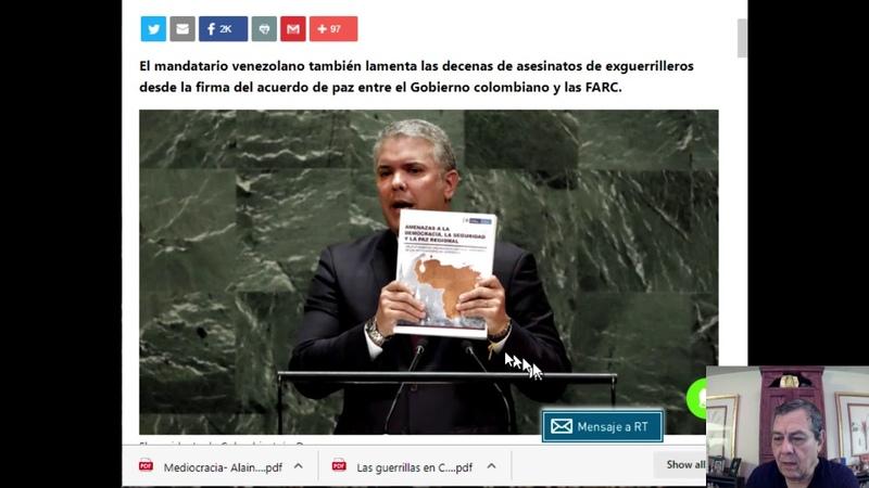 2019 Agravios de Colombia a Venezuela Siglo XXI 1005 P 176