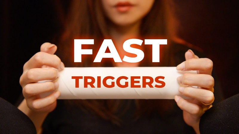 ASMR 30 Fast Triggers for Intense Tingles No Talking