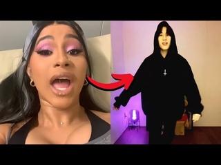 Cardi B Reacts to GOT7 BamBam Dancing to WAP on TikTok (BamBam V Live Got7 reaction wap challenge )