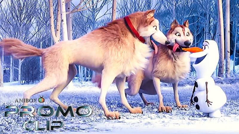 OLAF At Home With Olaf Doggies FROZEN Official Digital Series Promo NEW 2020 Disney HD