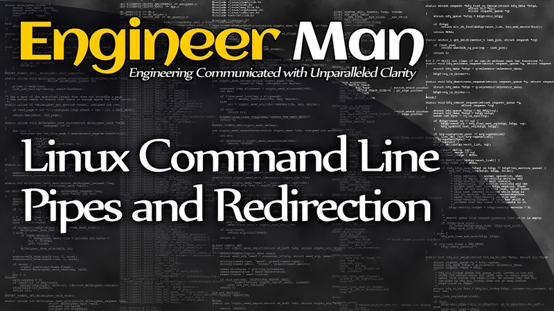 Linux Command Line Pipes and Redirection