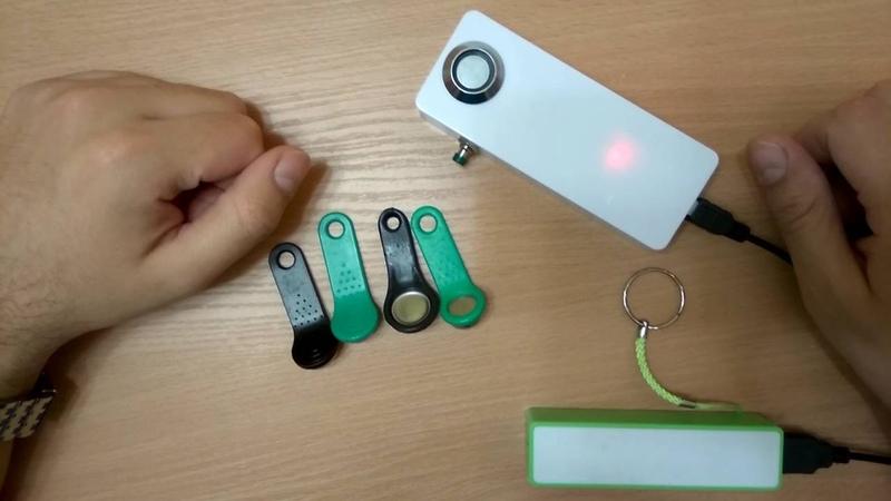 Самодельный дубликатор домофонных ключей на arduino