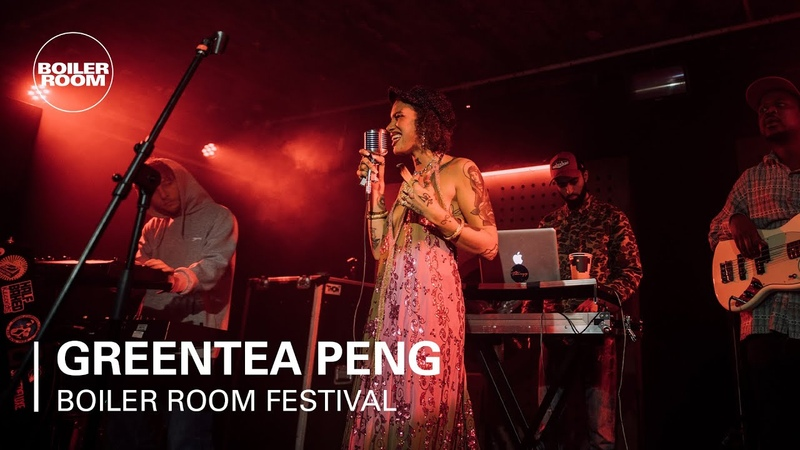 Greentea Peng Boiler Room Festival Day 1 Jazz