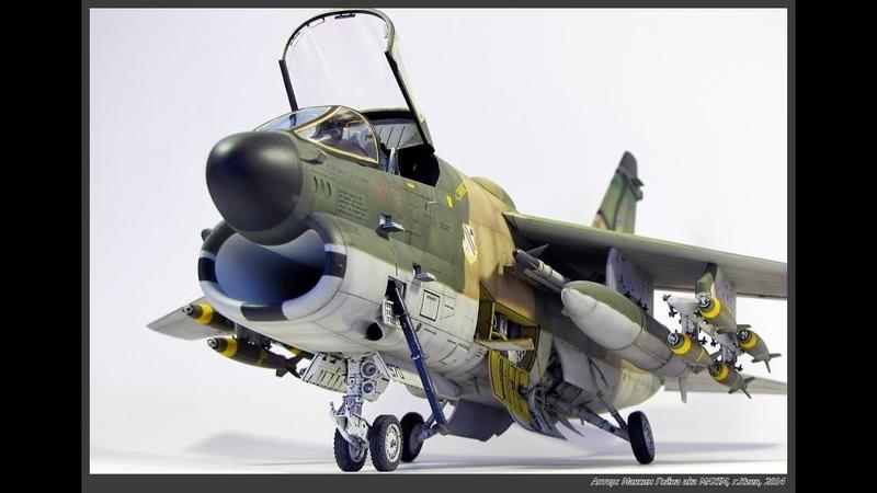 Тонировка масштабных моделей авиации - СМЫВКА