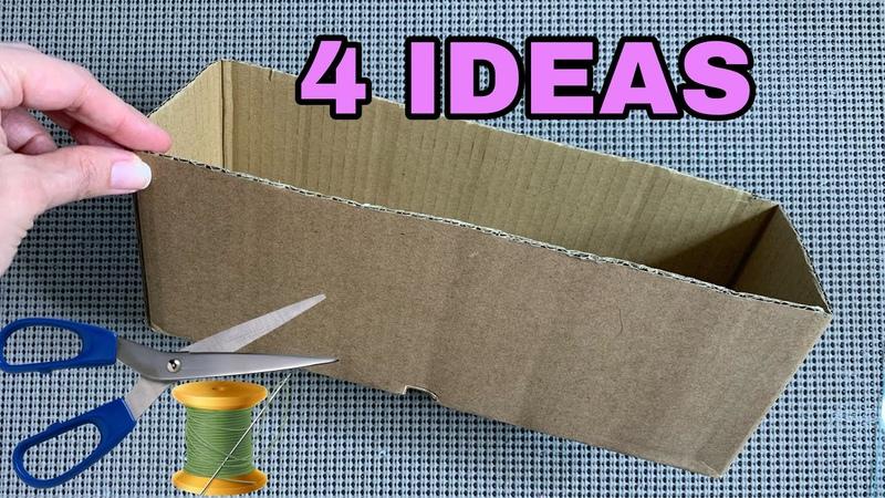 4 CARDBOARD BOXES IDEAS INCREIBLES IDEAS CON CAJAS