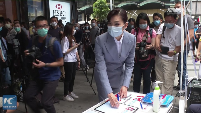 Over 2 mln Hong Kong residents sign petition supporting national security legislation