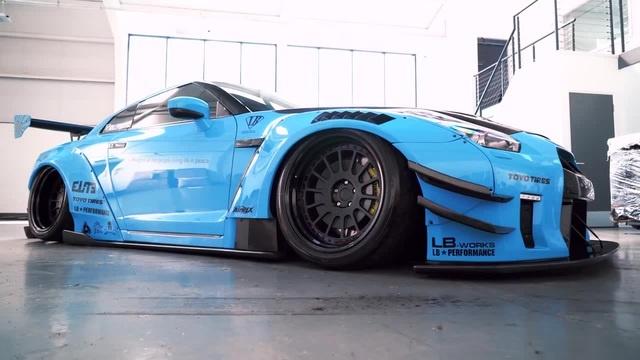Blue Dragon Nissan GTR Oh darling