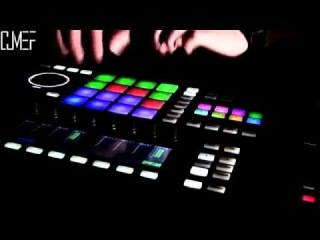 """soundcheck in NC """"CHICAGO"""" in DPR on MASCHINE STUDIO Дима Мэф live-beatmaking"""