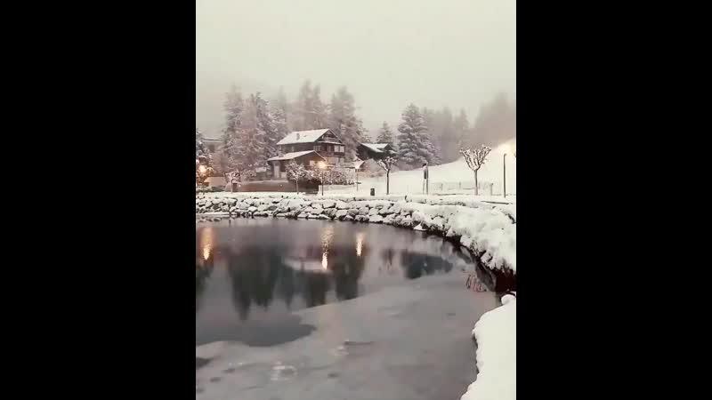 Доброе утро, друзья ! Прекрасного зимнего утра ! - Удачного дня для всех вас !.mp4