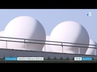 Villenave d'Ornon : une station satellite de Space X s'installe aux portes de Bordeaux