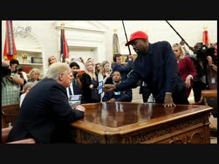 Kanye West's Meeting With President Donald Trump At The White House