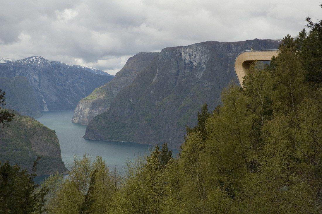 Aurland Look out / Saunders arkitektur   Wilhelmsen arkitektur