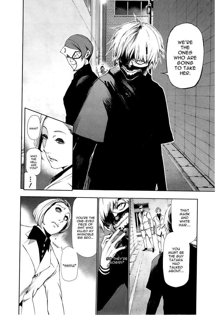 Tokyo Ghoul, Vol. 10 Chapter 90 Pursuit, image #23