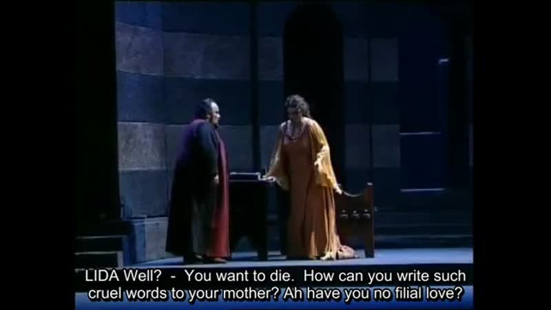 Verdi La Battaglia di Legnano English subtitles added by me 360p