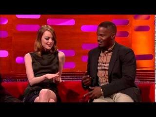 The Graham Norton Show S15E02 Andrew Garfield, Emma Stone, Jamie Foxx