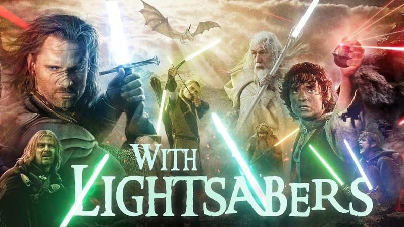 The Lord of the Rings with Lightsabers смотреть онлайн без регистрации